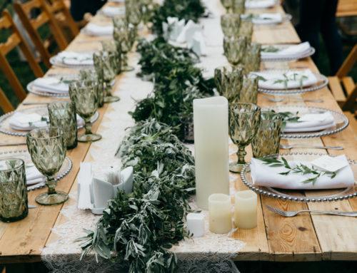 Die Dekoration Eurer Hochzeit